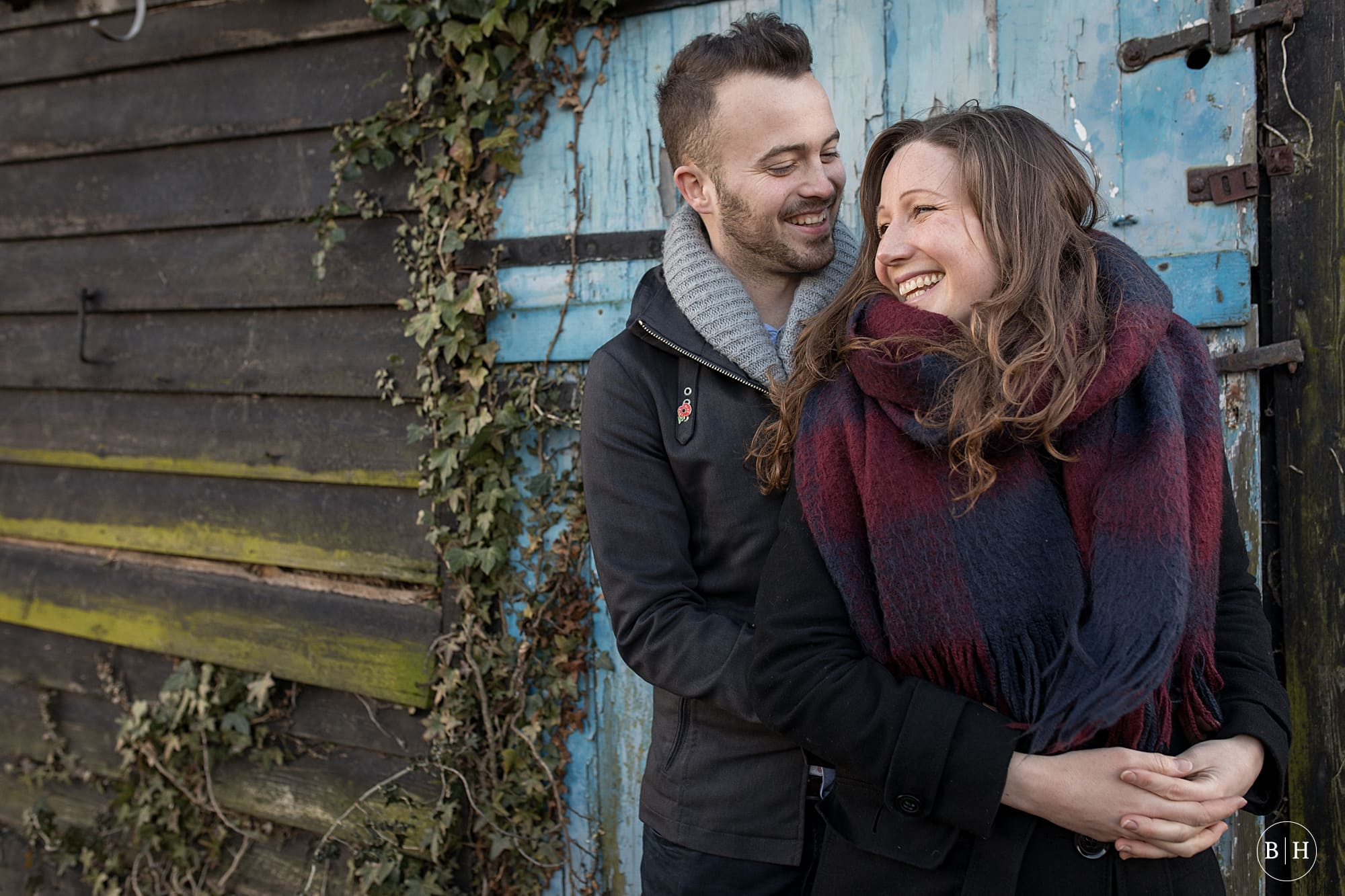 Melanie & Henry's Hertfordshire Engagement Shoot