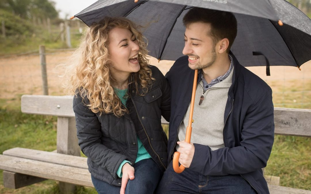 Becca & Russell | Panshanger Park Engagement Shoot