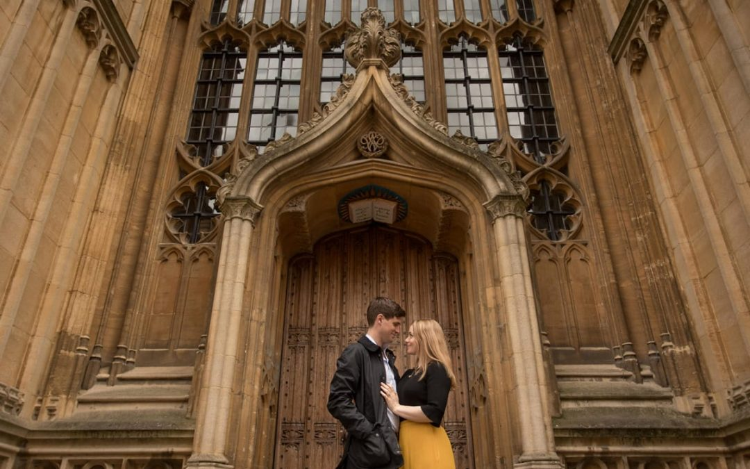 Laura & Oliver's Pre-wedding shoot | Oxford Engagement Photography
