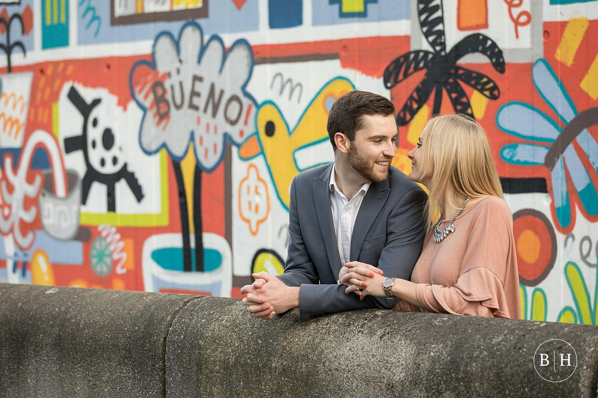 Abbey & Dan's South Bank Engagement Shoot