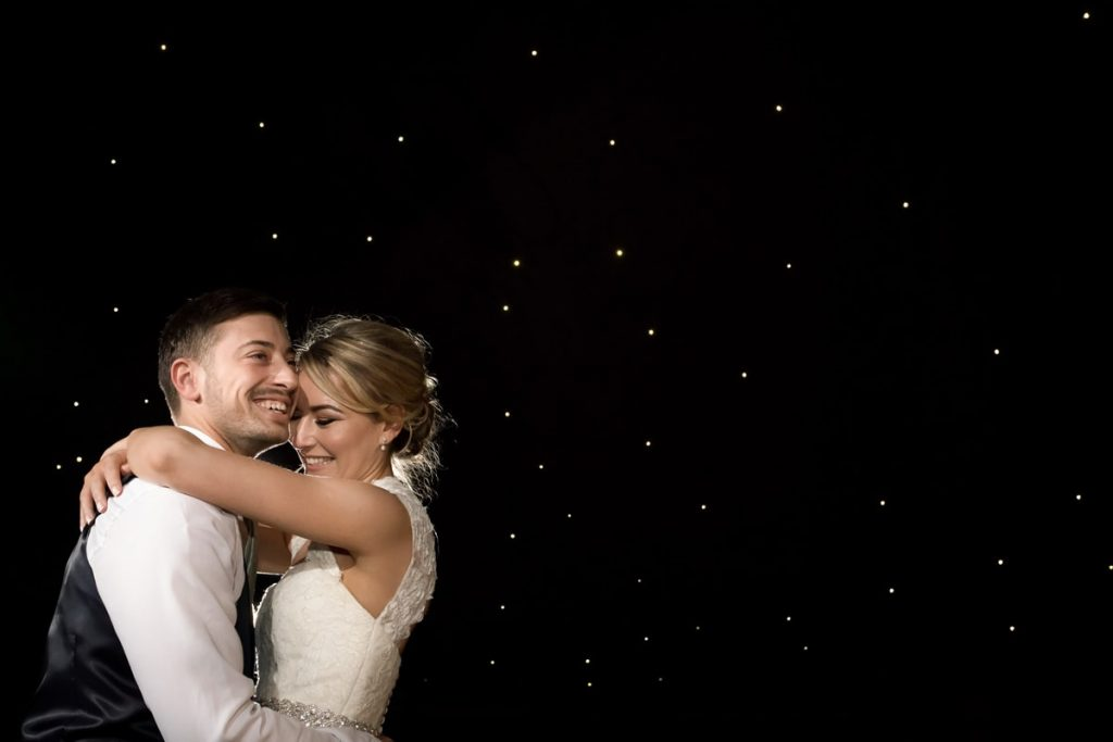 Bride and groom's first dance Hunton Park Wedding Photography