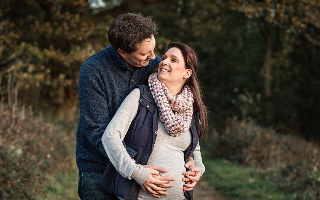 Hertfordshire Maternity Photographer – Claire & Nick