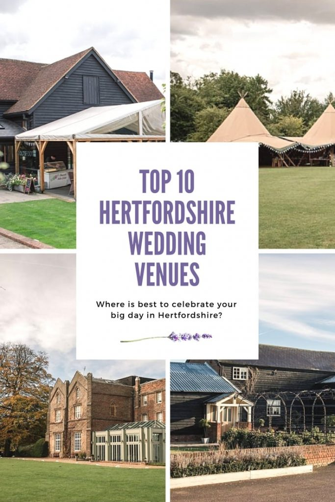 Top 10 Hertfordshire Wedding Venues