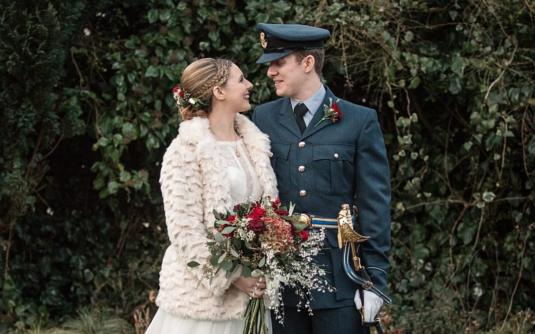 Winter Milling Barn Wedding in Hertfordshire | Issy & Alistair