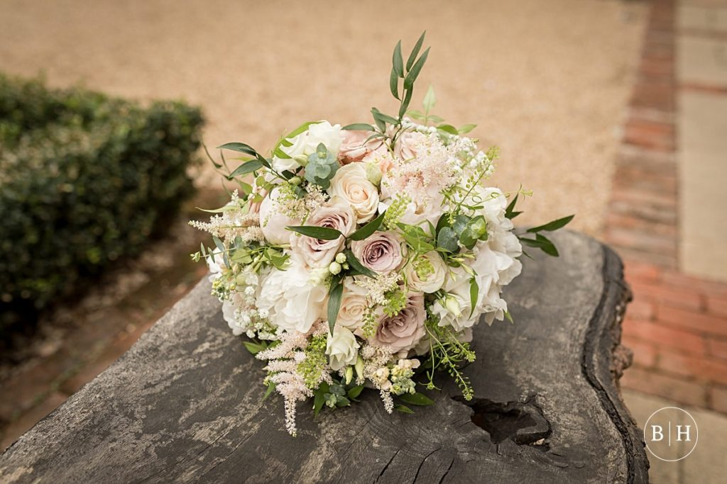 Pastel tone wedding bouquet. How to book your wedding florist