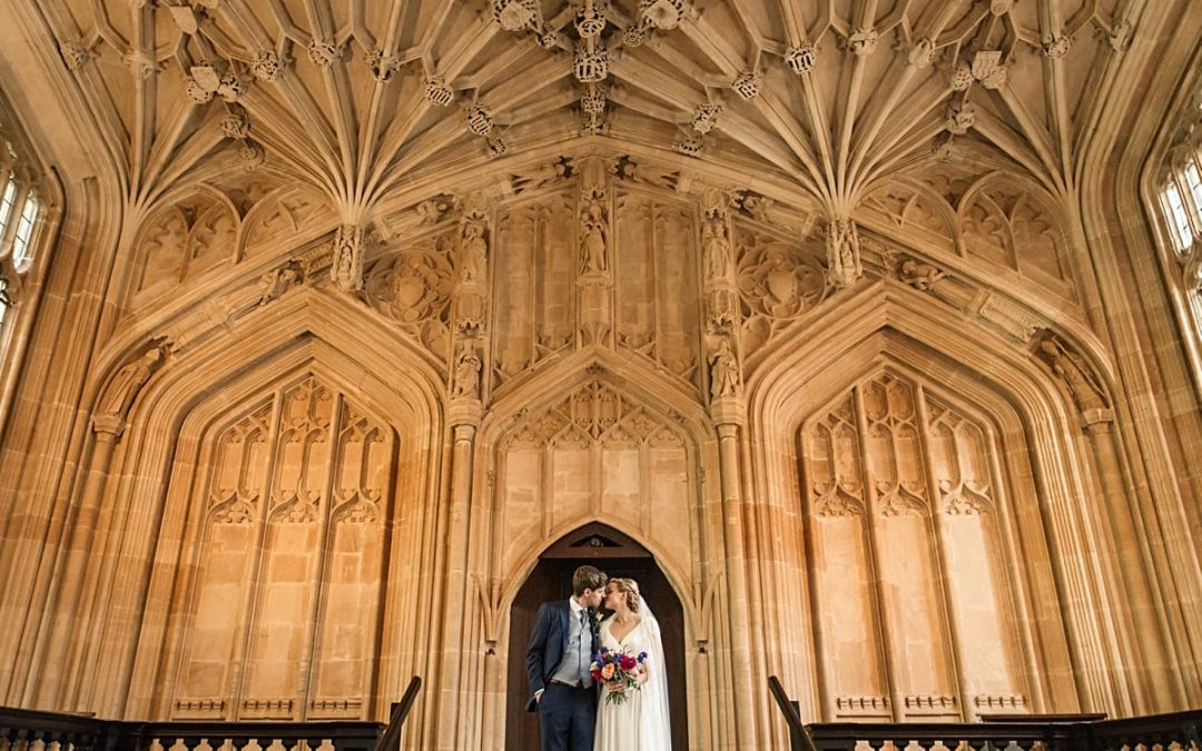 Gorgeous Bodleian Library Wedding in Oxford – Laura and Oliver