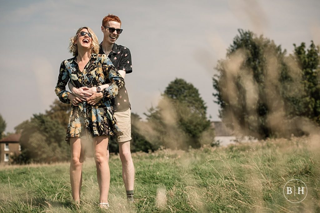 Brockwell Park Engagement Photography