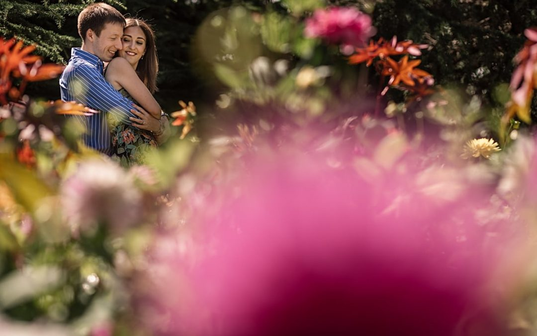 Summer Greenwich Park Engagement Shoot – Maria and Ashley