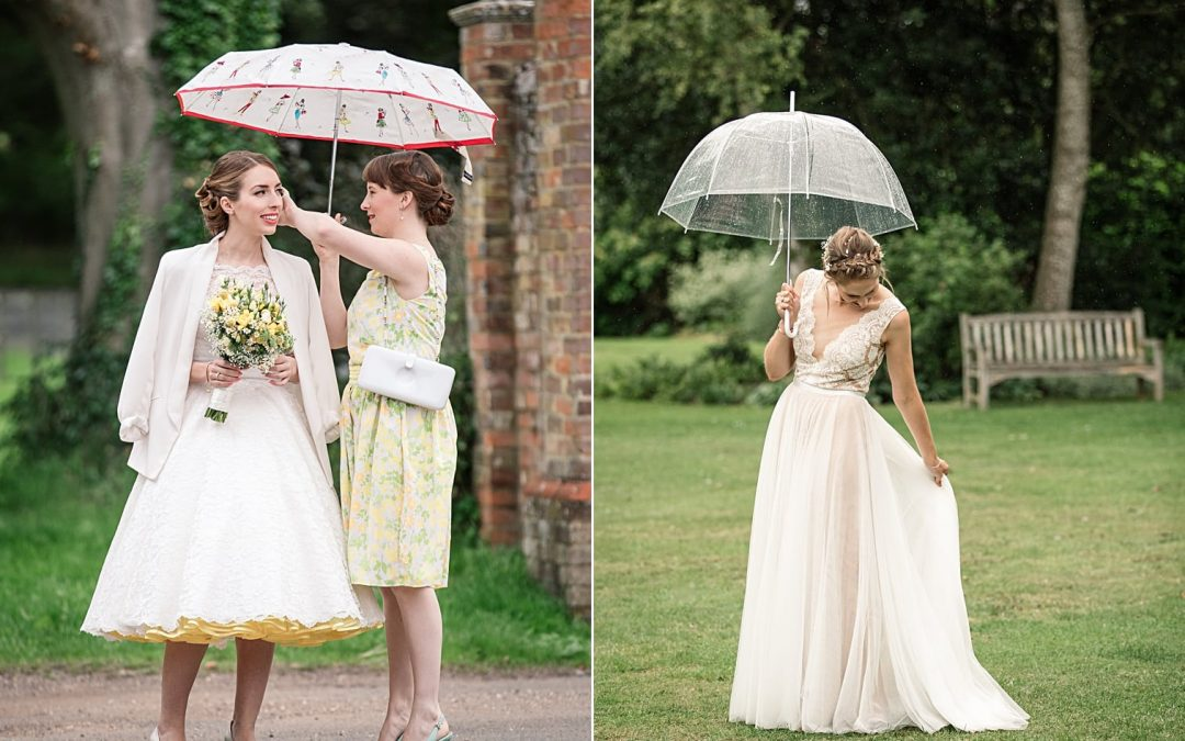 What if it rains on my wedding day? –  8 Top Tips for a rainy wedding day