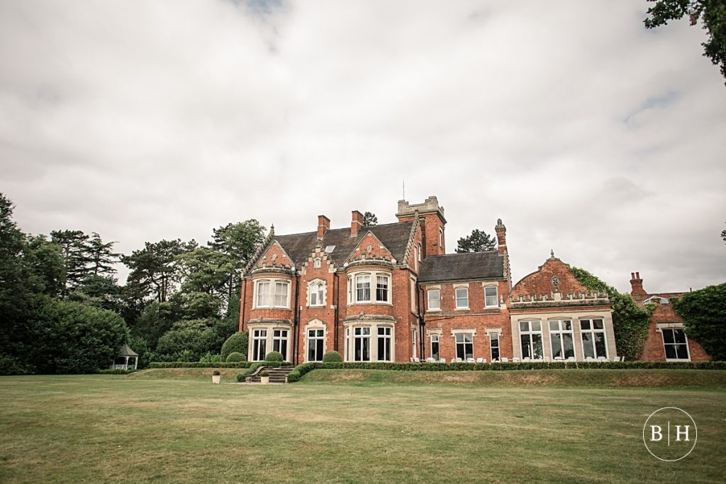Pendrell Hall wedding venue in the West Midlands taken by Becky Harley Photography