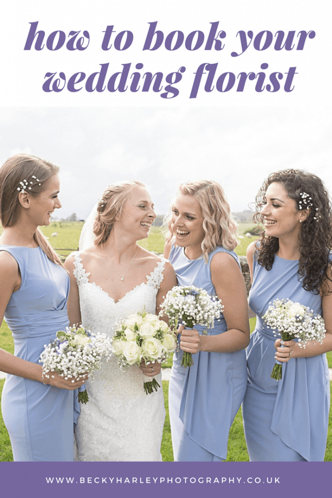 how to book your wedding florist