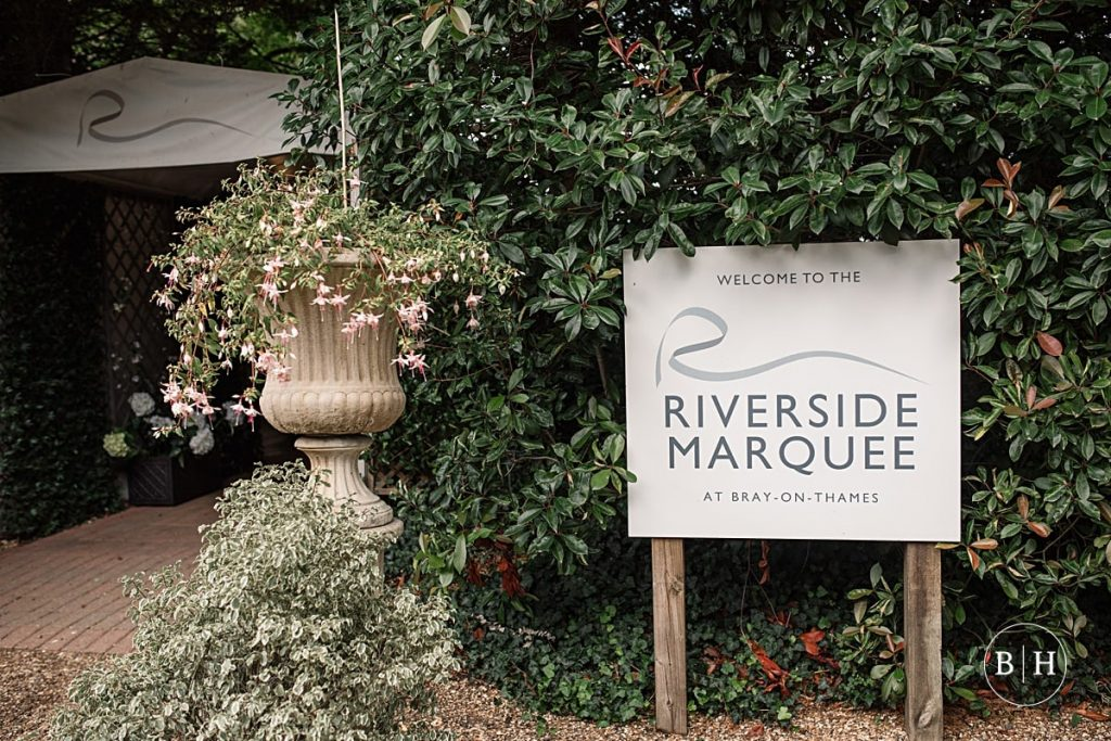 Riverside marquee wedding taken by Becky Harley Photography