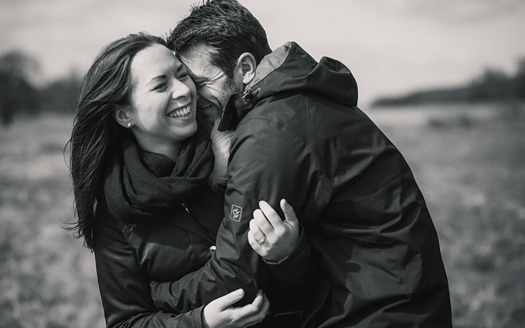 Chilly Hertford Engagement Shoot – Jen and Paul