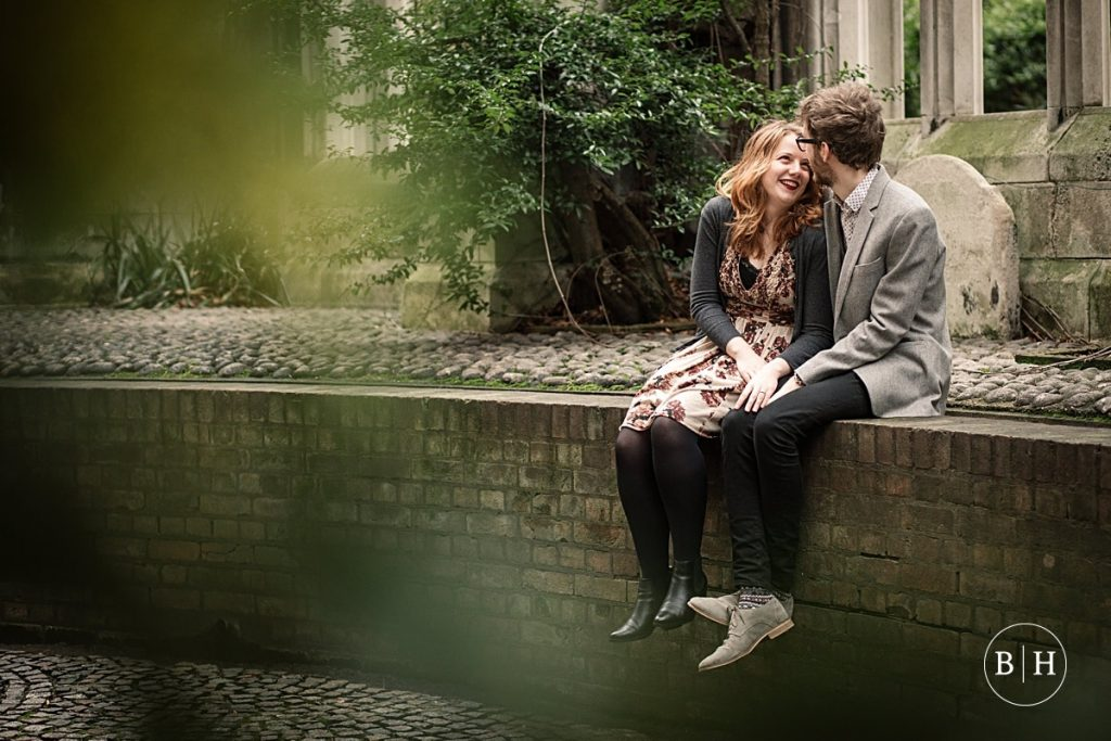 St Dunstan in the East Engagement Shoot