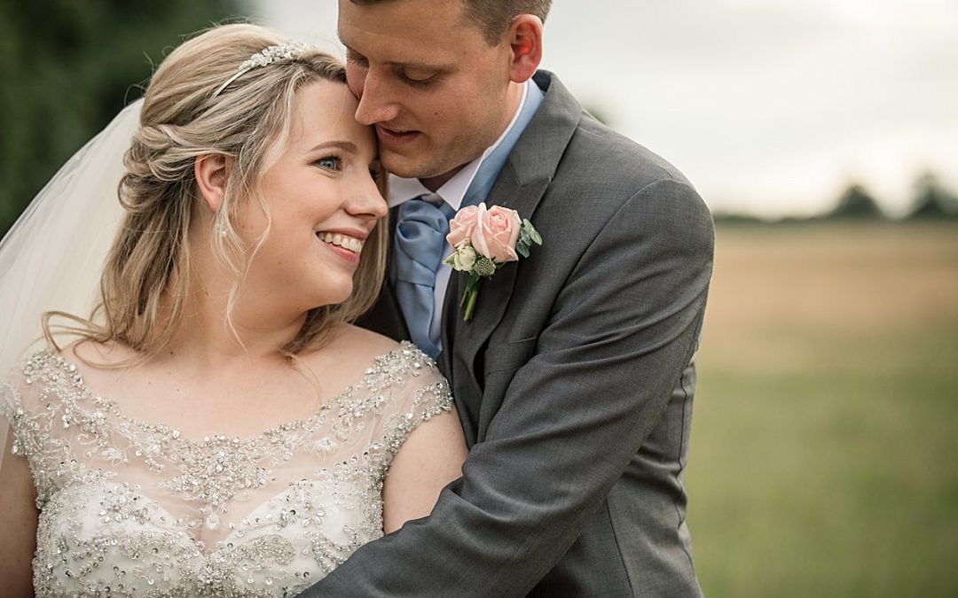 Summertime Knebworth Barns Wedding – Natalie and James