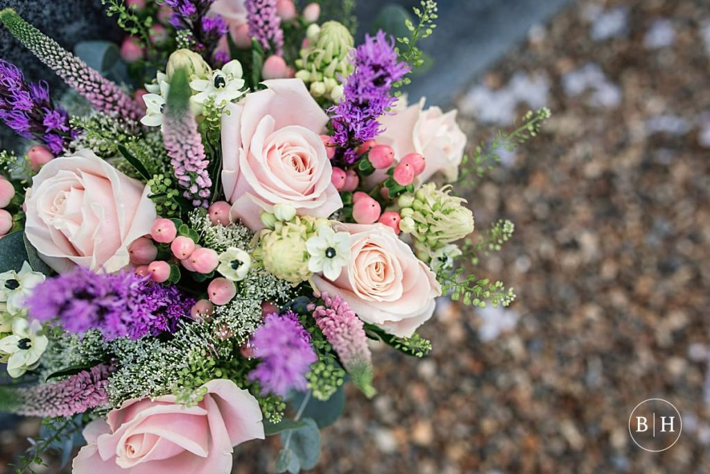 Wedding flowers at Theobalds Estate Wedding taken by Becky Harley Photography