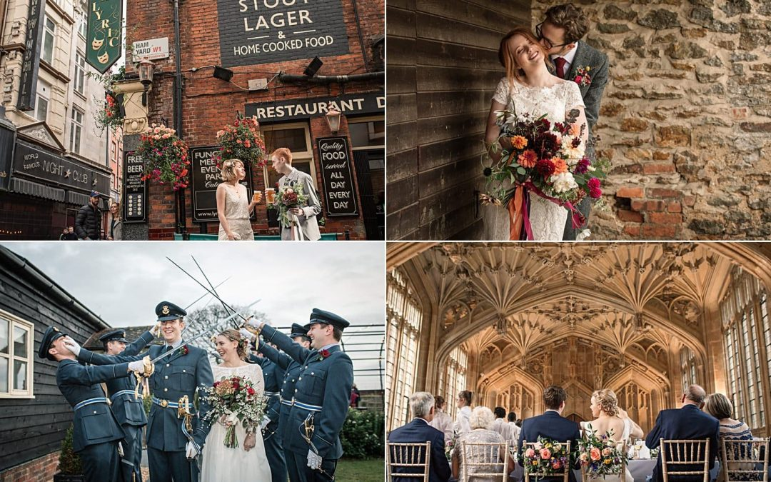 My Top Five Instagram Posts This Month | Best Wedding Photos in October 2018