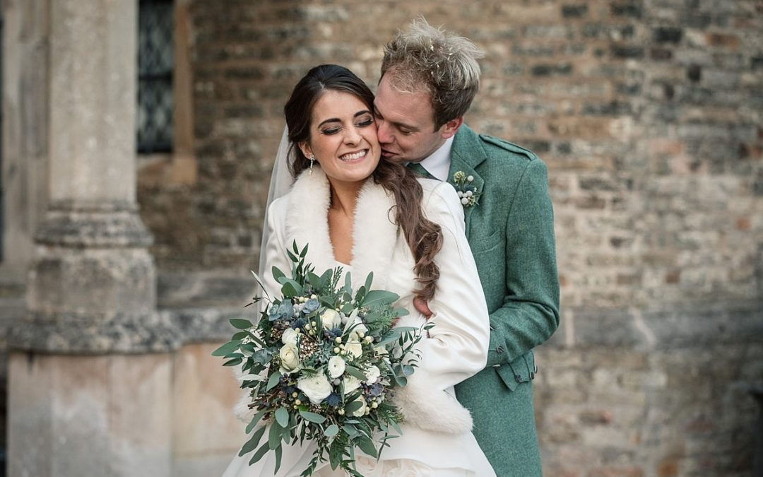 Gorgeous Wintery Hengrave Hall Wedding in Suffolk – Sophia and David