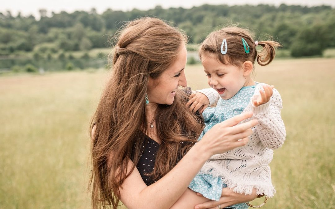 Mum and toddler at family shoot in Hertfordshire taken by Becky Harley Photography
