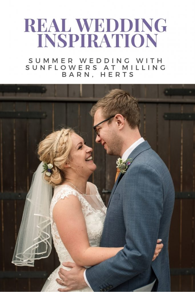 summer milling barn wedding