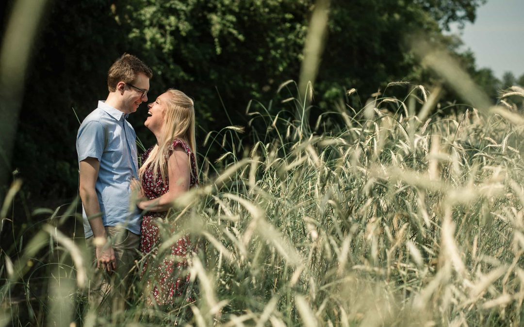 Laura and Tom's Hertfordshire Pre-Wedding Shoot