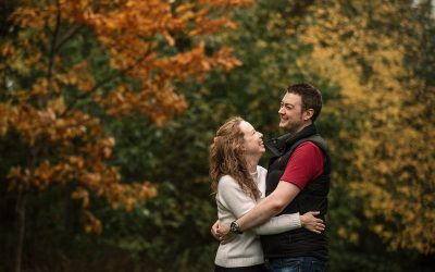 Sarah and Aaron's Hatfield House Engagement Shoot