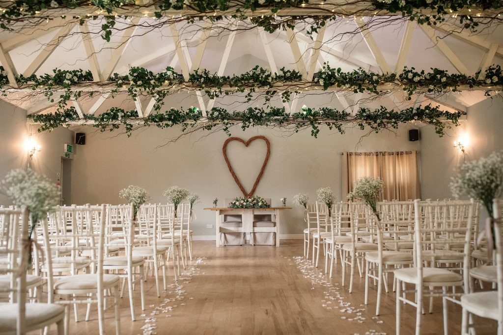 Dairy Barn at relaxed, rustic Milling Barn Wedding, taken by Becky Harley Photography