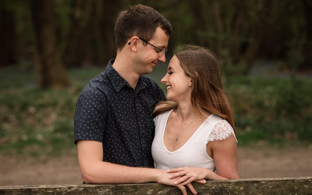 Hannah & Carl – Ashridge Pre-wedding Shoot