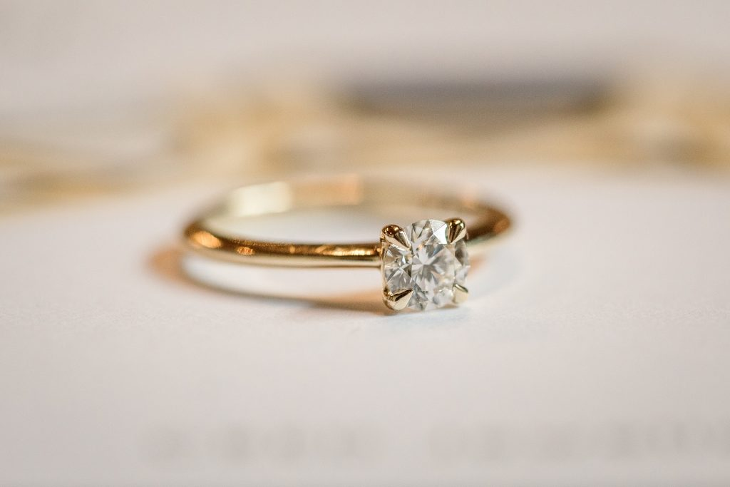 Ethical Jewellery Cred Jewellery Zinnia Talon Claw Engagement Ring taken by Becky Harley Photography
