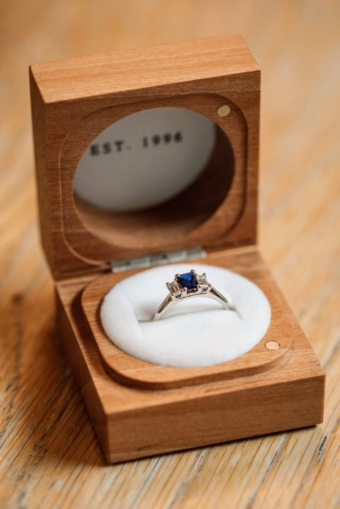 Ethical Jewellery Cred Jewellery Neroli Engagement Ring taken by Becky Harley Photography