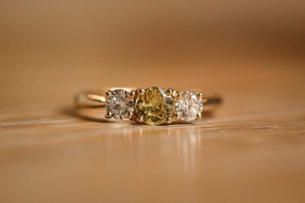 Ethical Jewellery Cred Jewellery Nerine Engagement Ring taken by Becky Harley Photography