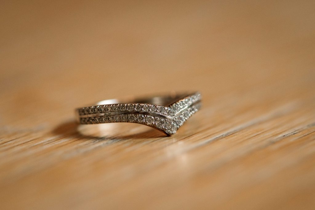 Ethical Jewellery Cred Jewellery Alya Eternity Ring taken by Becky Harley Photography