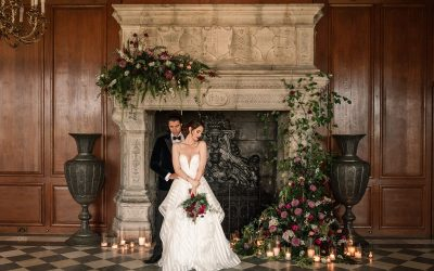 Stunning Winter Luxe Styled Shoot at North Mymms Park
