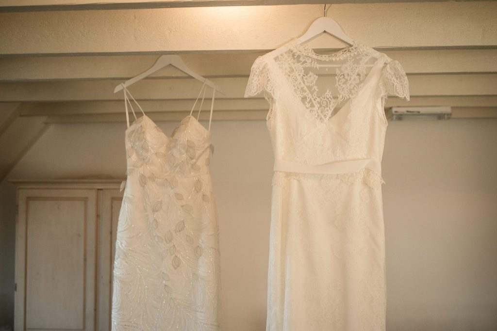 Bespoke Wedding gowns by Lisa Lyons Bridal at winter wedding inspiration shoot taken by Becky Harley Photography