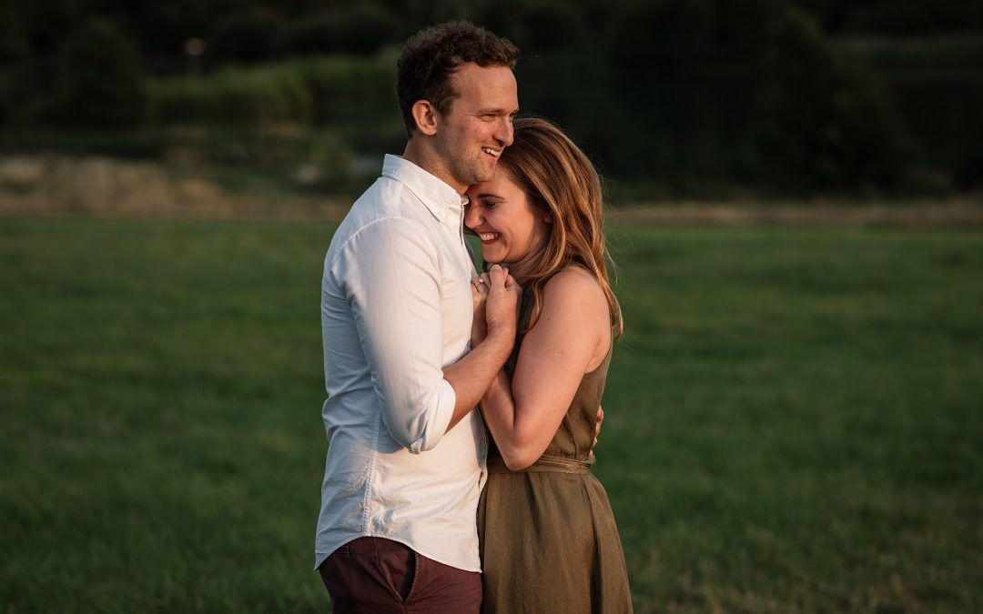 Beautiful Sunset Pre-Wedding Shoot – Cara & James