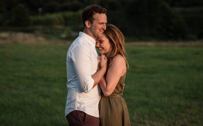 Beautiful Sunset Pre-Wedding Shoot – Cara & James