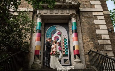 CRYPT ON THE GREEN CLERKENWELL, LONDON WEDDING – SIOBHAN AND GUY