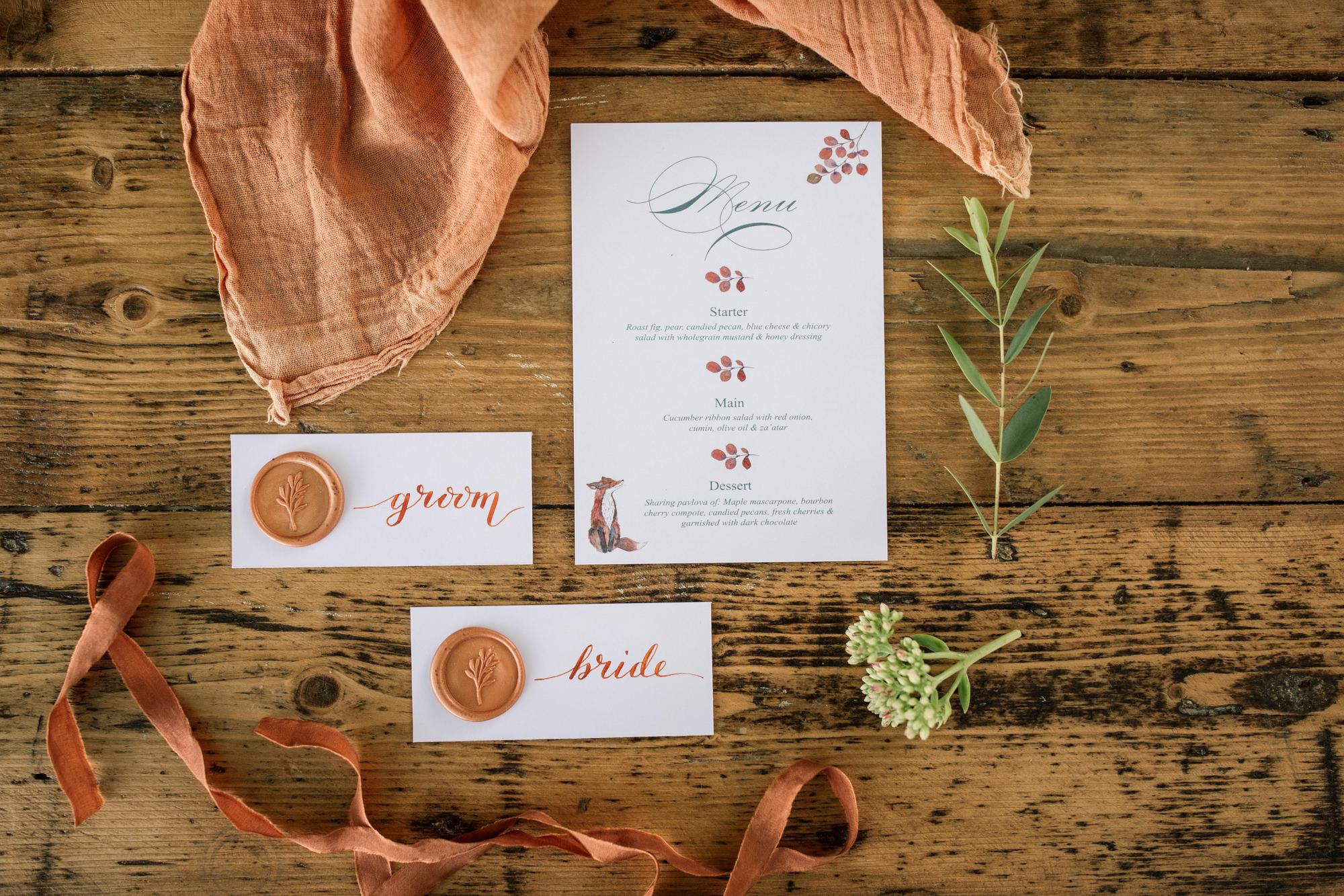 Wedding Stationery Styled Shoot