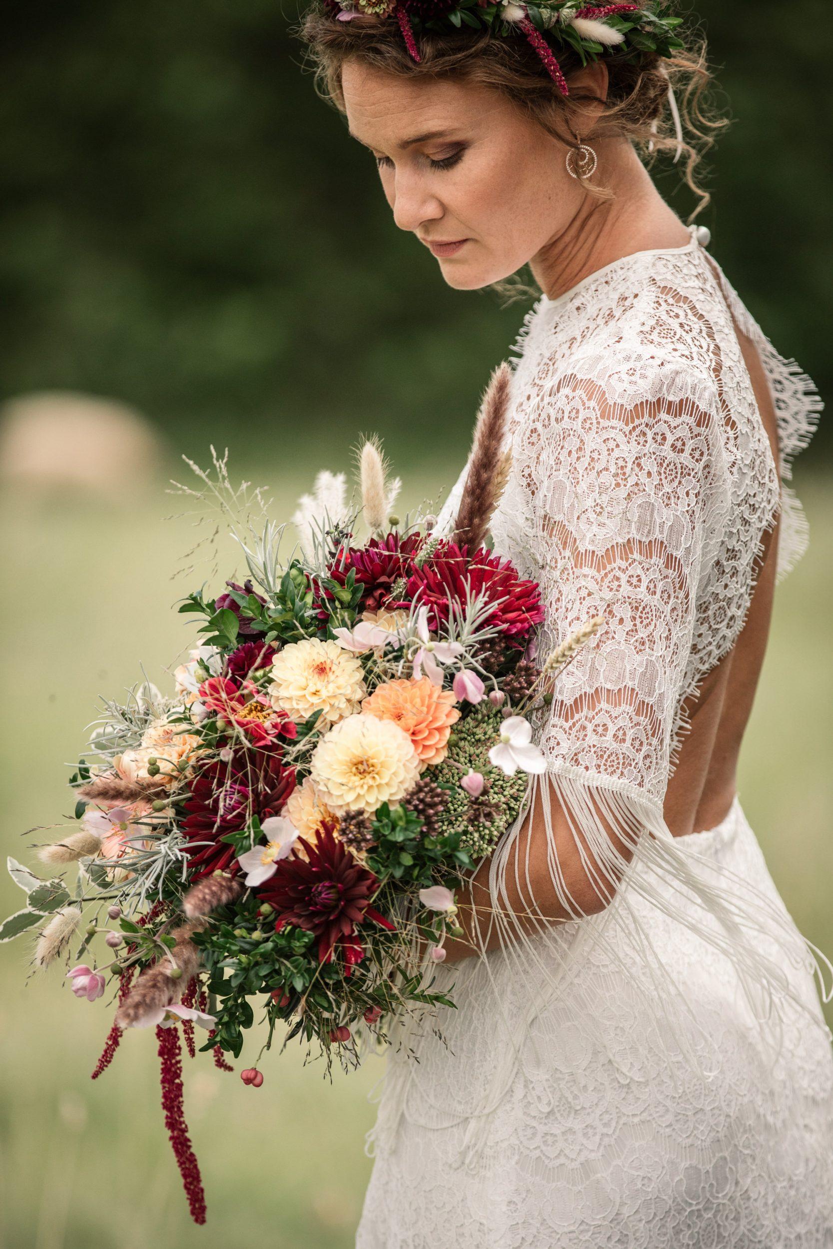 Bridal Bouquet for Suffolk Barn Wedding Photographer