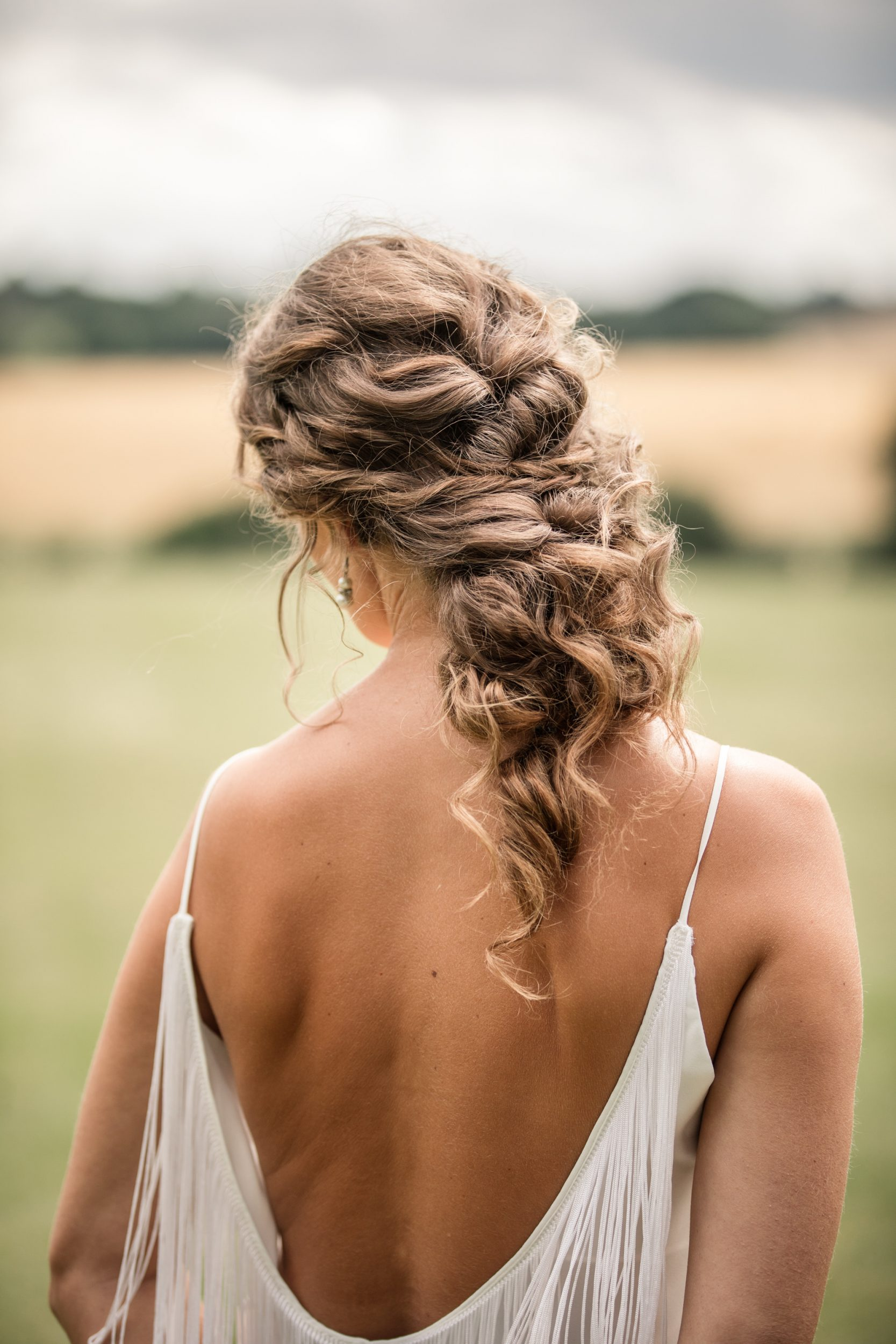 Bride at Styled Suffolk wedding shoot